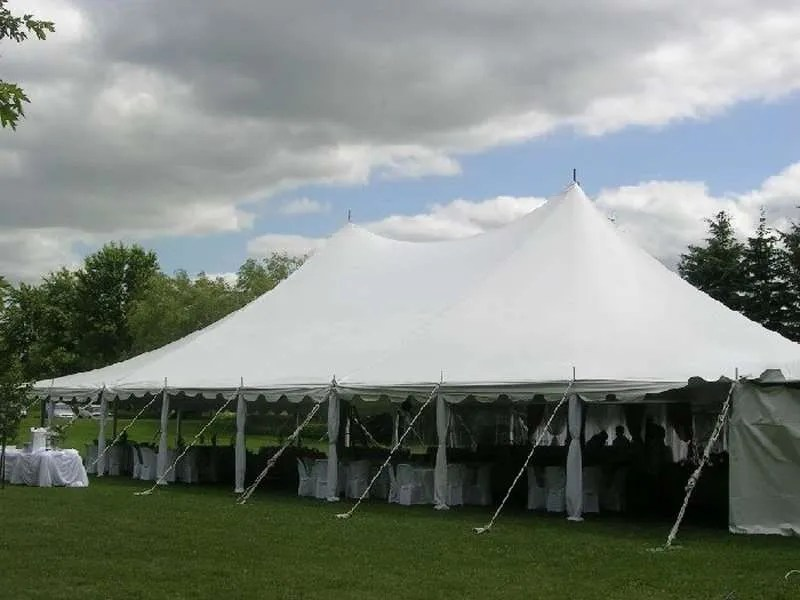 outdoor pole tent rental