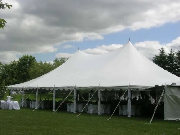 outdoor pole tent