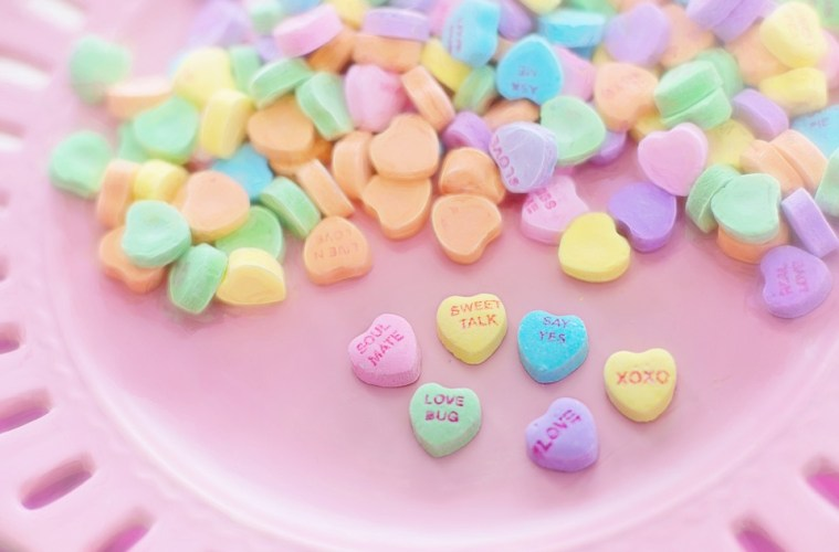 valentine's sweethearts candy