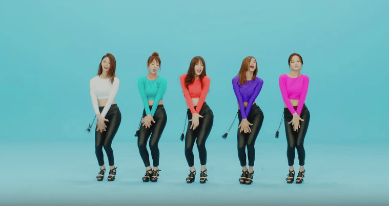 """EXID in """"Up and Down"""""""