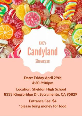 sheldon high KMC candyland showcase 2016