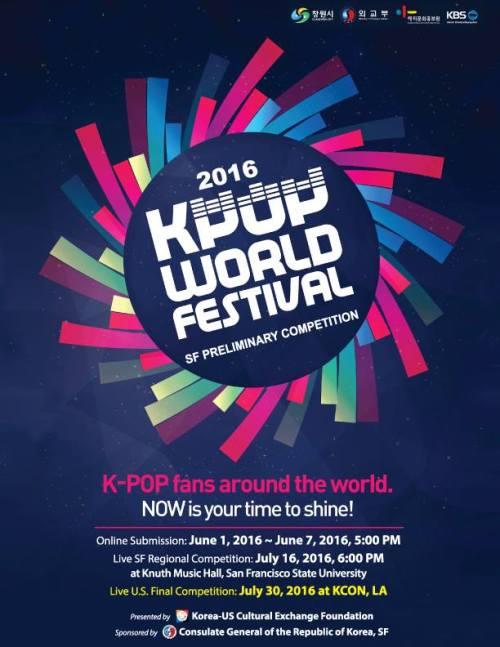 2016 K-POP World Festival – SF Preliminary Competition