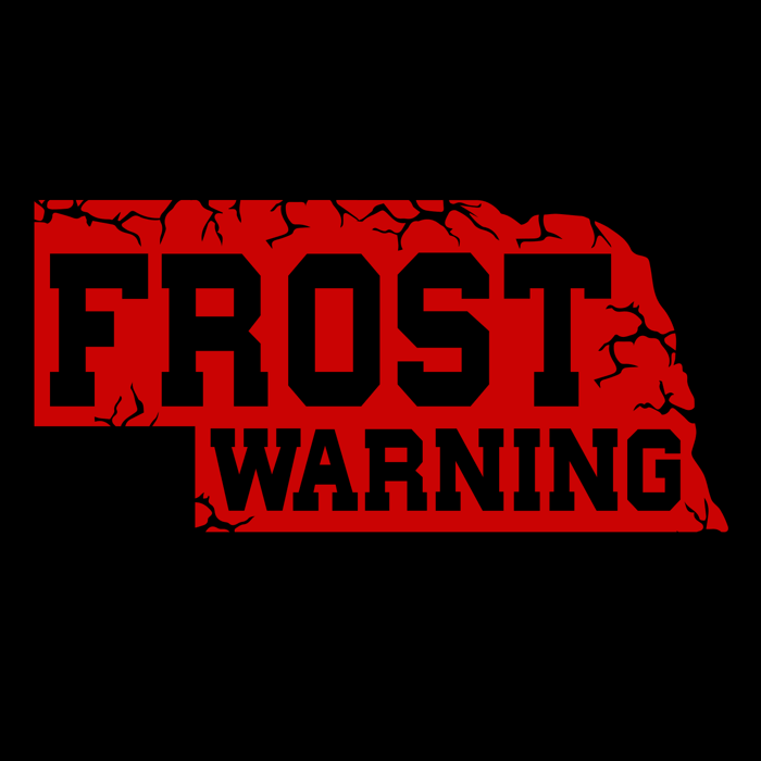 Frost Warning Nebraska Shirt 24 Hour Tees