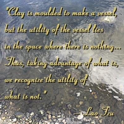Quote Lao Tzu Clay