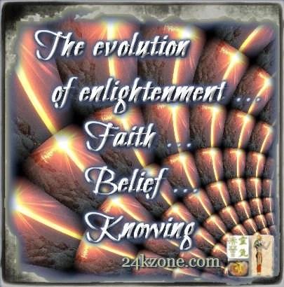 The evolution of enlightenment