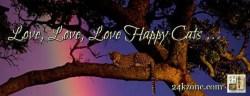 Love Love Love Happy Cats