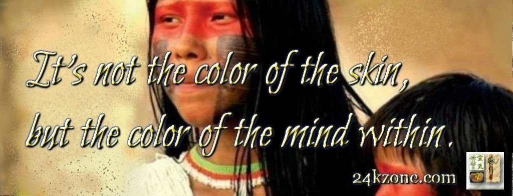 It is not the color of the skin