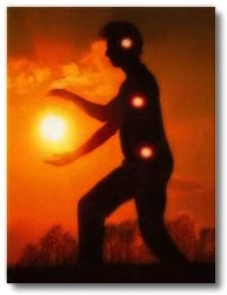 embracing the sun