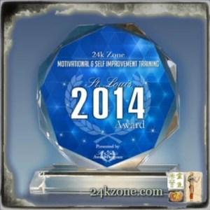 2014 Motivational and Self Improvement Training Award