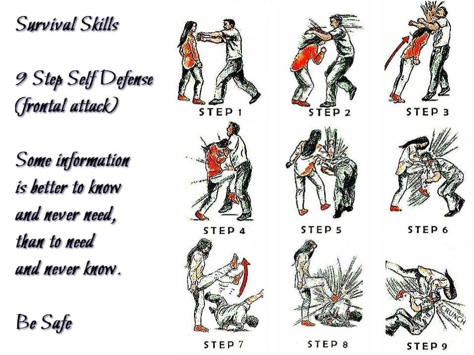 9 step self defense