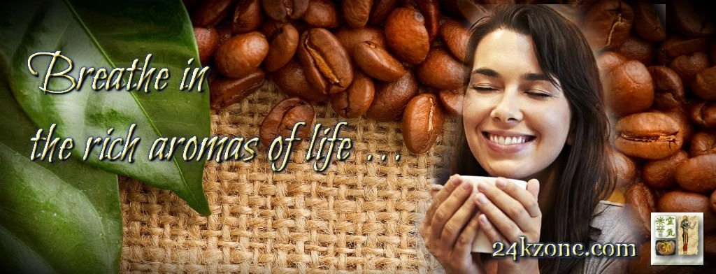 Breathe in the rich aromas of life
