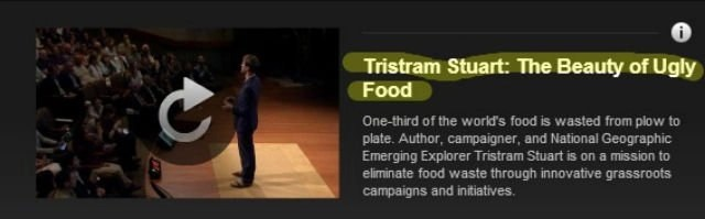 Tristram Stuart  The Beauty of Ugly Food   FORA