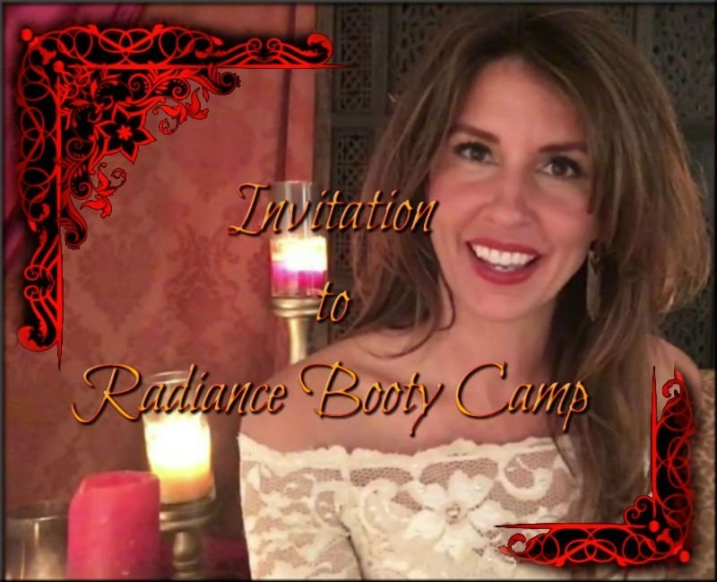 Invitation to Radiance Booty Camp