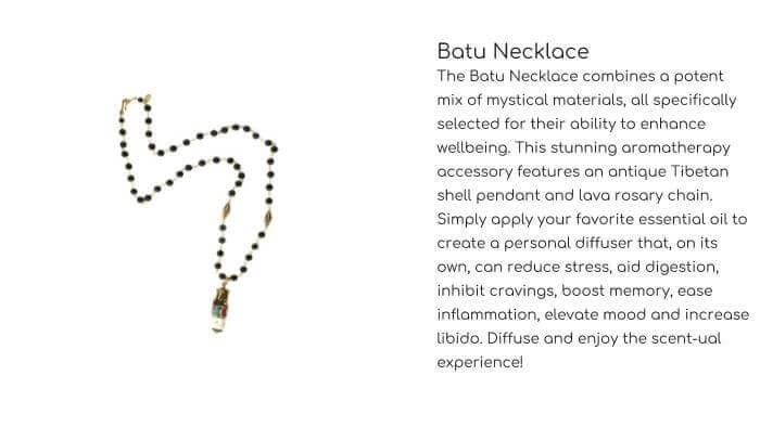 HOT ROCKS JEWELS Batu Necklace
