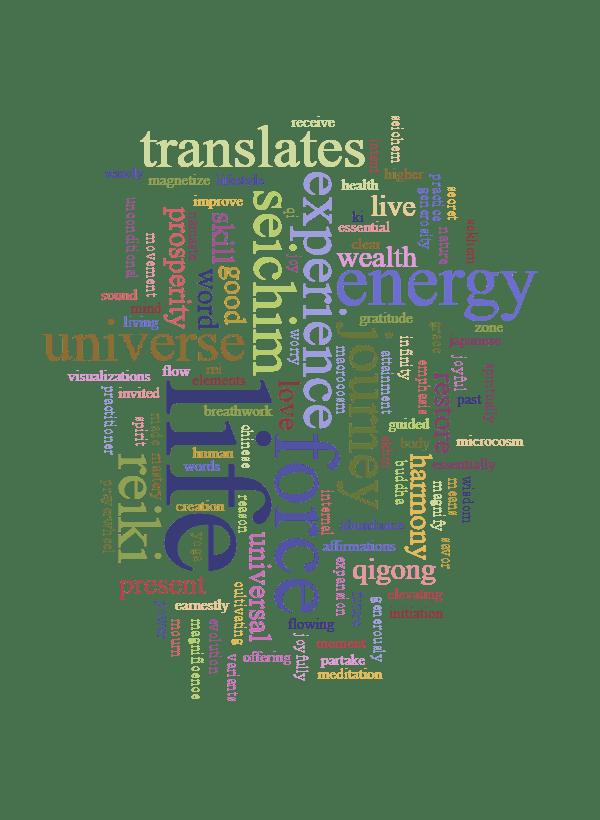 life force energy experience journey reiki seichim translates universe good
