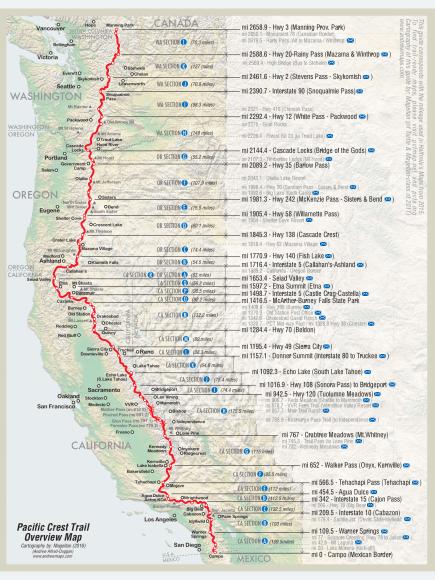 PCT Map