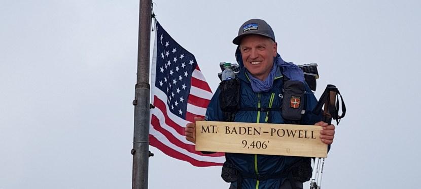 J 21 – 21 mai. Mont Baden-Powell puis mile 379,5