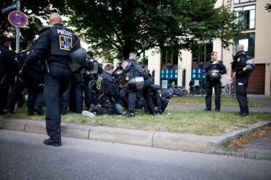 police mob