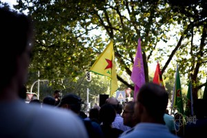 rojava solidarity 1 - Rojava Solidarity demonstration - 2
