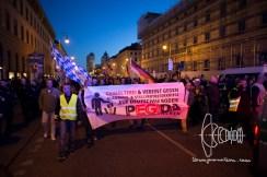 PEGIDA branch Munich rallies through the city