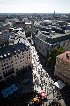 Scenic view over Munich.