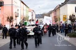 Antifacist demonstration