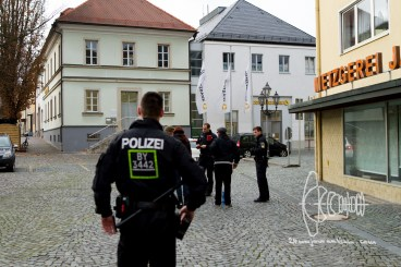 People that could be nazi-opposers get randomly controlled by USK Bamberg.