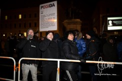 Amongst PEGIDA warmly welcomed: A group, led by convicted neo-nazi terrorists.