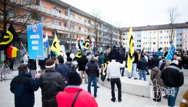 afd geretsried 20160312 12 - AfD holds rally in Geretsried - thousand protest against it