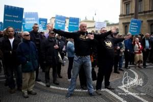 afd odeonplatz 20160416 11 - AfD Munich holds rally on Odeonsplatz