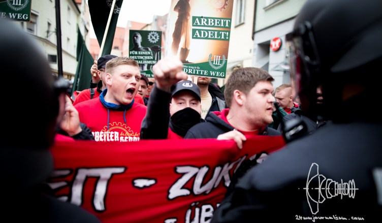 iiiwegdemonstrationingolstadt 20160409 5 - III. Weg Demonstration Ingolstadt