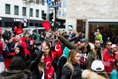 Clashes erupt as Turkish nationalists rally for Peace in Munich