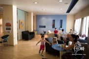 The lobby. Running around children everwhere. The house is very vivid. Full assemblies are held here.