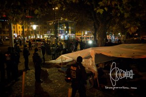 evictionsendlingertor 20161104 10 - Eviction of hunger strike refugee camp at Sendlinger Tor in Munich