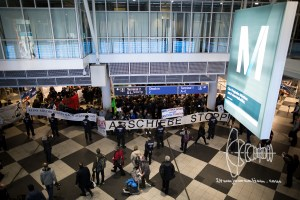 deportation munich airport 20170222 9 - Germany deports to Afghanistan from Munich airport - activists rally at Munich airpor