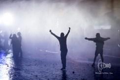 07.07.2017 - Proteste gegen den G20 - Schwere Ausschreitungen im Schanzenviertel und Sankt Pauli - am frühen Abend bis spät in die Nacht kam es zu schweren Ausschreitungen im Haburger Schanzenviertel.