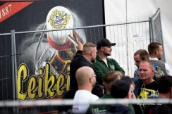 "Truck of Brewery ""Leikeim"". According to brewery officials the Leikeim brewery did not supply the event. The truck was privately owned and unfortunately used at this event. See statement in the article."