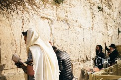 Prayers at the Western Wall.