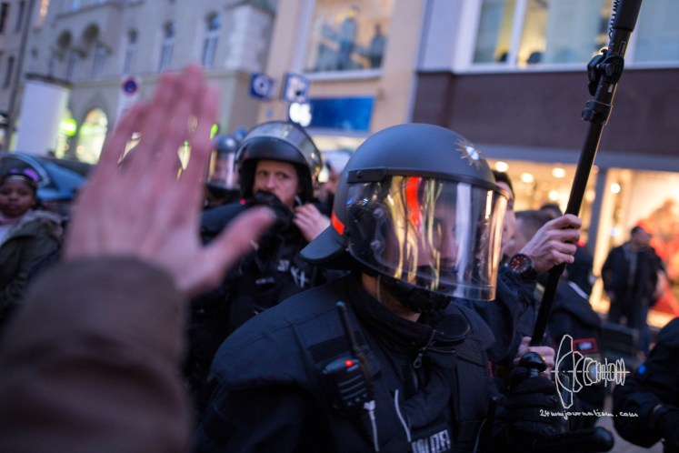 frauenkampftag 20180308 13 1024x683 - Protest on Women's Day in Munich - Sexualised Violence against Activist