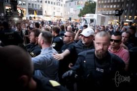 Lutz Bachmann leaving Munich.