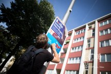 An AfD poster is tagged on.