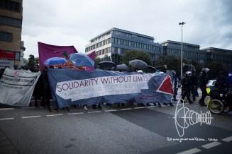Demonstration passes BAMF.