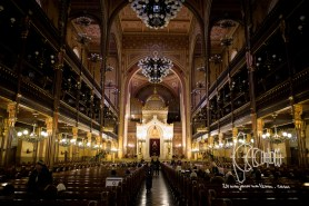 Inside th Great Synagogue.