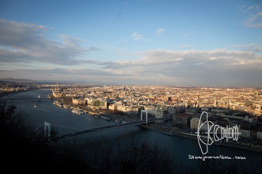 View over the Pest part of the city.