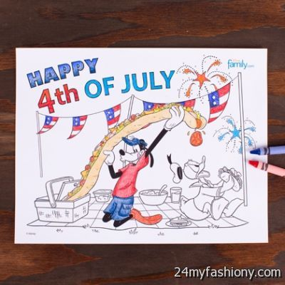 Disney 4th Of July Coloring Pages images 2016-2017 » B2B ...