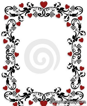 Valentines Day Clip Art Borders Images 2016 2017 B2B Fashion