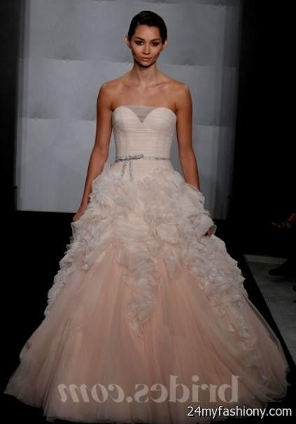 blush pink wedding dress say yes to the dress 2016-2017 » B2B Fashion