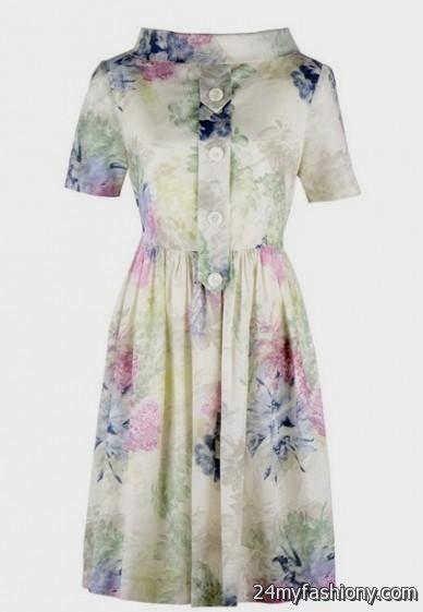cream floral sundress 2016-2017 » B2B Fashion