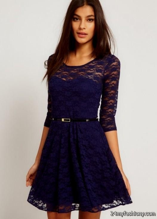 Best lip color for blue dress