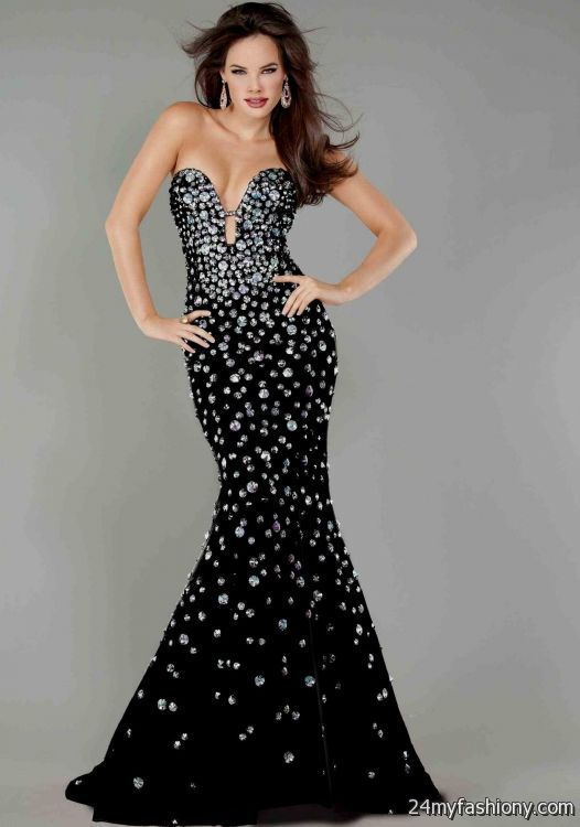 jovani black lace mermaid dress 2016-2017 » B2B Fashion